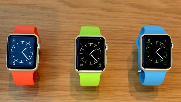 Watch apps are banned, and there's no option for creating new faces for the built-in one, so the ten Apple-created watchfaces are the only ones available