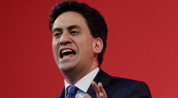 Labour Party leader Ed Miliband says the Tories have a mindset of 'pessimistic isolation' which undermines Britain's future