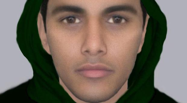 Police say this newly-created e-fit is the best likeness of the man who raped and tried to murder an 18-year-old woman in Leeds (West Yorkshire Police/PA)