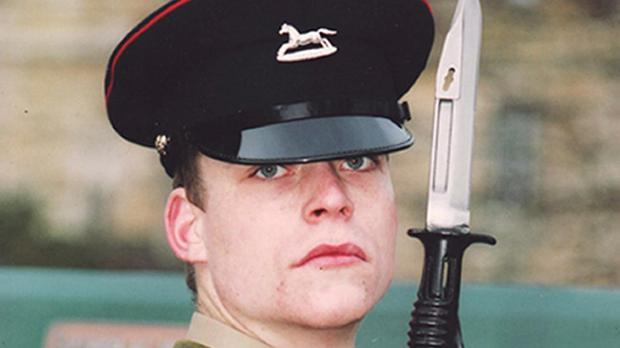 Lance Corporal David Ramsden was driving the armoured vehicle which crashed into a canal in Afghanistan