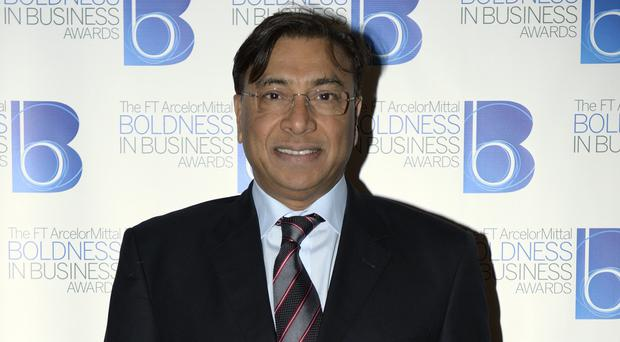 Steel magnate Lakshmi Mittal is worth an estimated £9.2 billion.