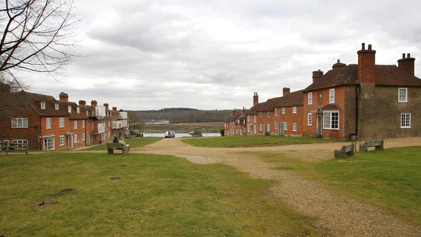 A university project is to bring shipbuilding back to Buckler's Hard near Beaulieu in Hampshire