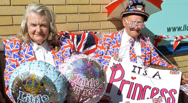 Royal watchers have already set up home outside the Lindo Wing of St Mary's Hospital in London ahead of the royal baby's arrival