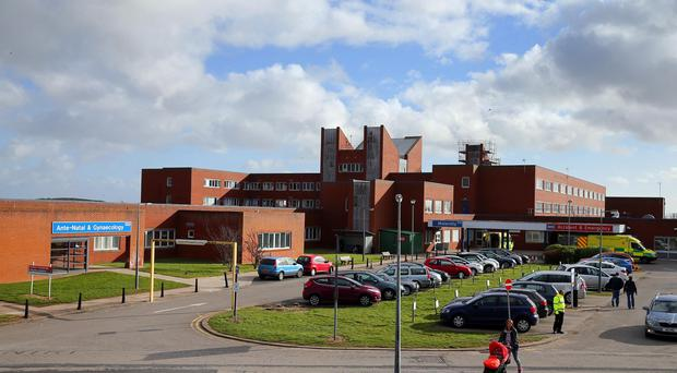Furness General Hospital in Barrow, Cumbria