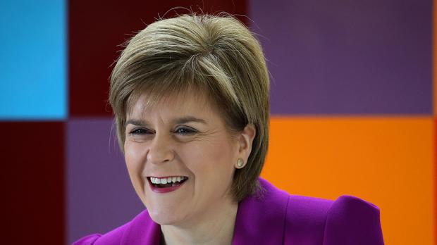 First Minister Nicola Sturgeon says the people of Scotland will decide over another referendum