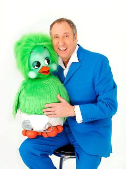 Double act : Keith with Orville