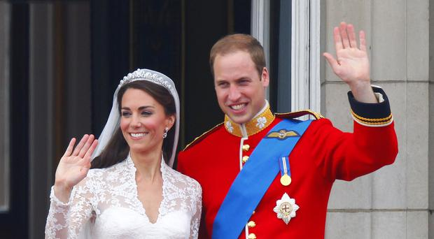 William and his wife Kate have been married for four years