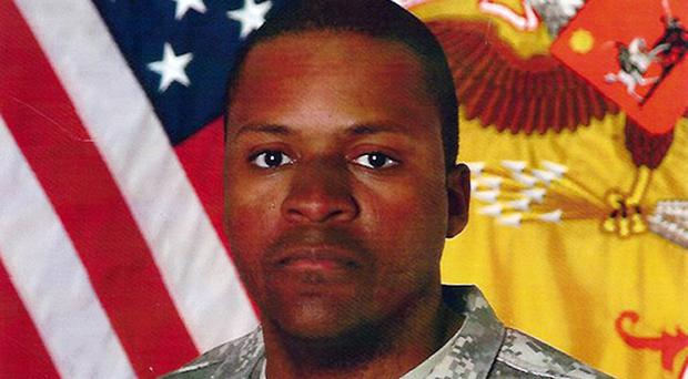 Sergeant First Class Randy Johnson was killed when the armoured vehicle he was travelling in was hit by a blast in Iraq (US Army)