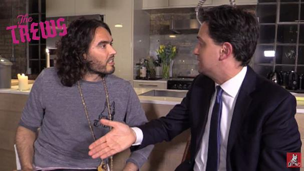 Russell Brand's meeting with Labour leader Ed Miliband