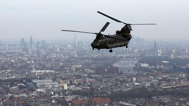 RAF Chinooks are being deployed to Nepal