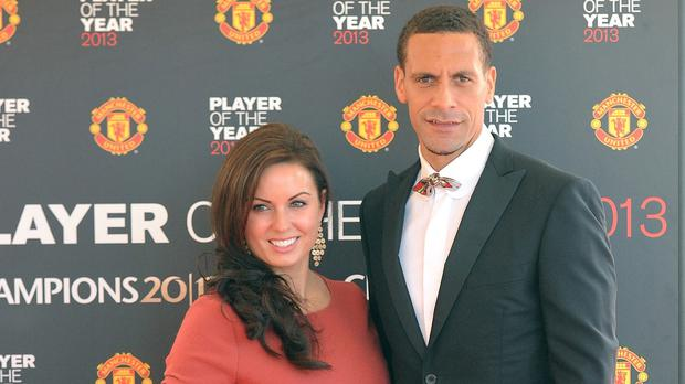 Rio Ferdinand has revealed his grief after wife Rebecca died following a short battle with cancer