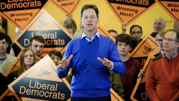 Nick Clegg said it would be a