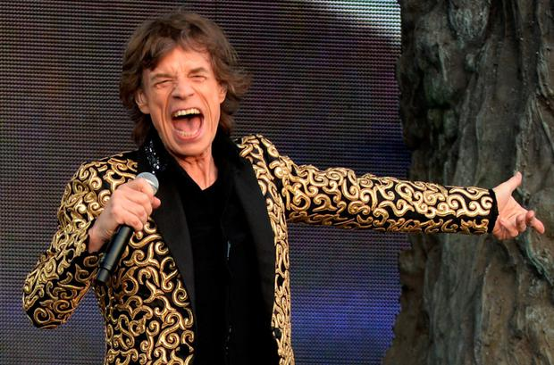 Charity effort: Sir Mick Jagger
