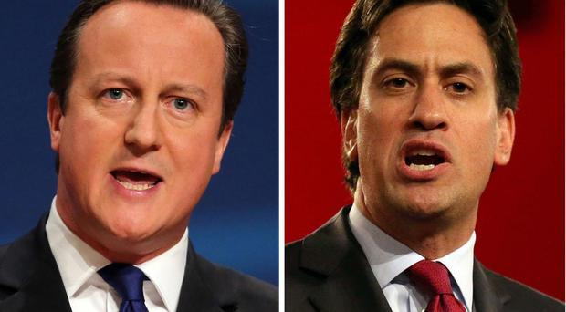 There's still no clear leader in the race for No 10 between David Cameron and Ed Miliband