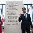 Ed Miliband set out his promises in stone