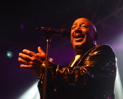 Errol Brown playing with Hot Chocolate just a few days ago at Vicar Street in Dublin