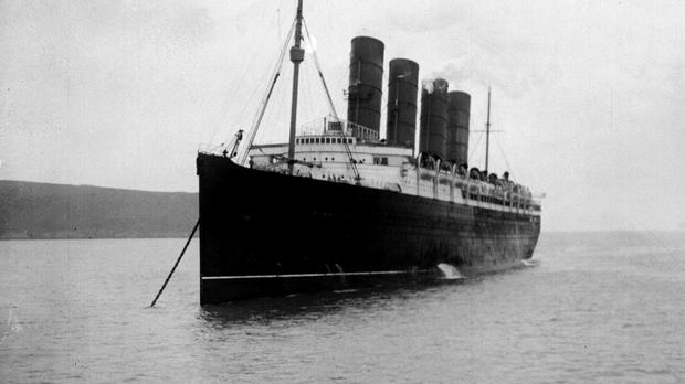 The Lusitania was targeted by a U-Boat