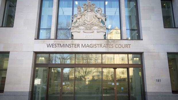The men appeared at Westminster Magistrates' Court