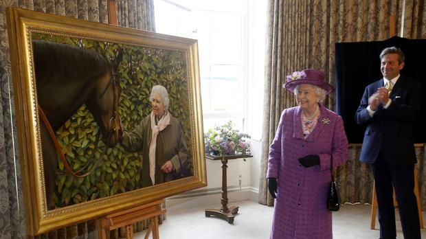 The Queen's love of horse racing is well documented
