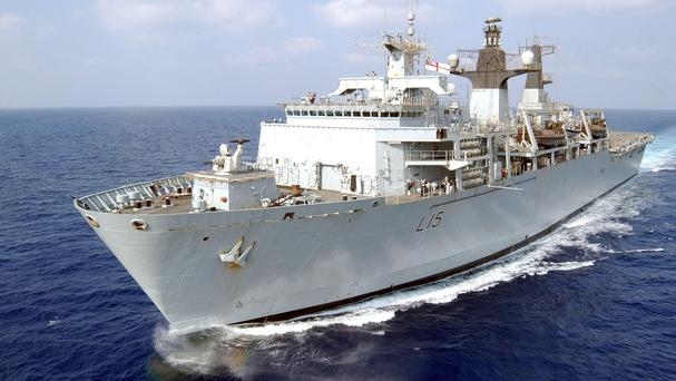 HMS Bulwark is on patrol in the Mediterranean