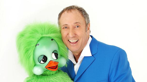Ventriloquist Keith Harris was famous for his act with his puppet duck Orville
