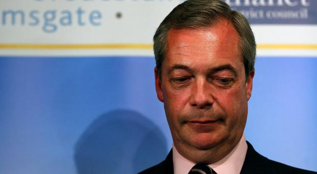 Nigel Farage raised the prospect he would consider running to return to the job after a summer off when the contest is held in September