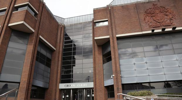 The couple are on trial at Harrow Crown Court