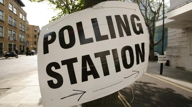 Voters were surveyed outside polling stations
