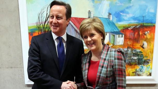 Nicola Sturgeon has warned David Cameron that it cannot be business as usual after the SNP's landslide Scottish election victory