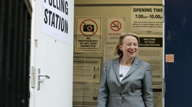 Natalie Bennett finished third in Holborn and St Pancras