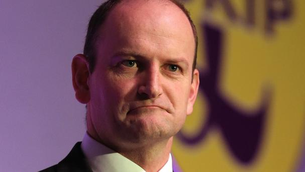 Douglas Carswell as Ukip's only sitting MP has ruled himself out of the race to be the party's next leader