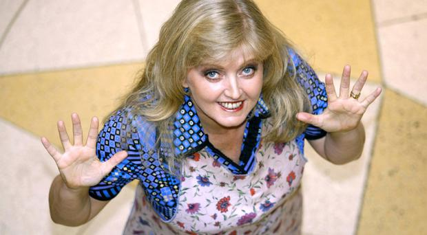 Linda Nolan in Blood Brothers - she said she had already agreed to pay back the £12,000 she owed