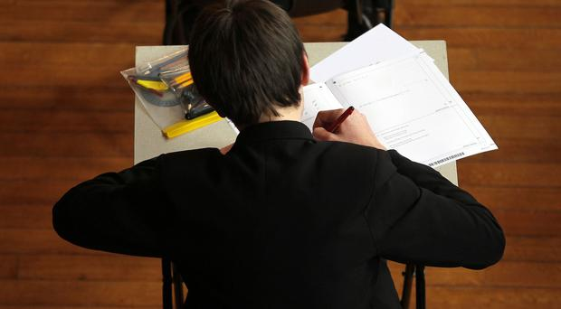 Some 68% of children admit feeling pressured at exam time, a poll shows