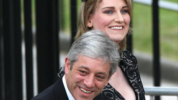 Sally Bercow has been accused of having an affair with her husband John Bercow's cousin.