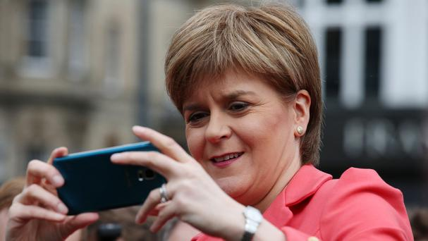 Nicola Sturgeon said she was 'not planning' to hold another independence referendum