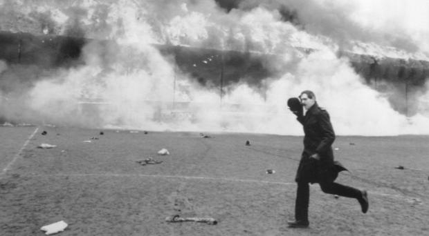 A documentary says police investigating the Bradford City fire which killed 56 fans knew who dropped the cigarette thought to have started the blaze