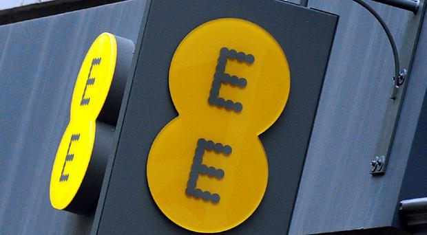 EE has come top of the list for landline and broadband complaints