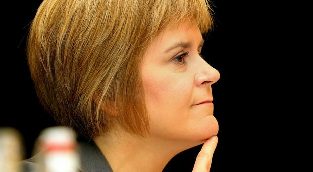 Nicola Sturgeon criticised the Conservatives' plan to replace the Human Rights Act