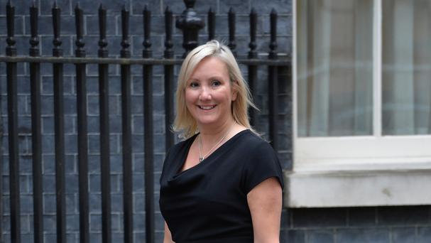 Caroline Dinenage opposed same-sex marriage