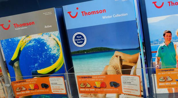 TUI is the owner of the Thomson brand