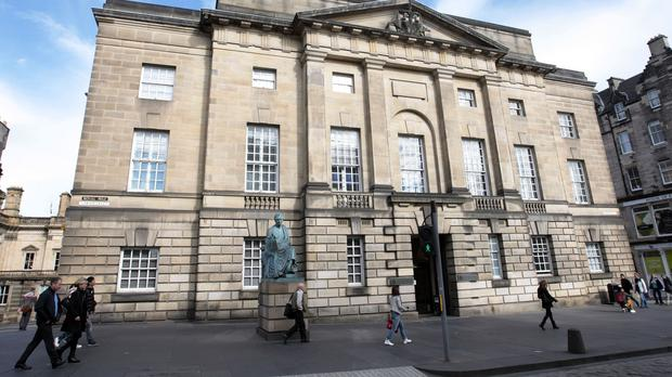 A teenager has been locked up at the High Court in Edinburgh for raping a 91-year-old woman