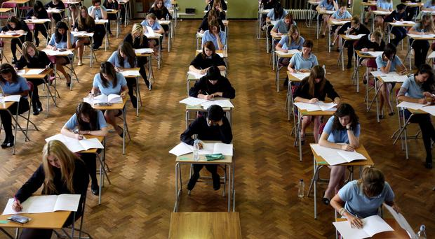 The pressure to perform well in exams is being felt by a rising number of young people