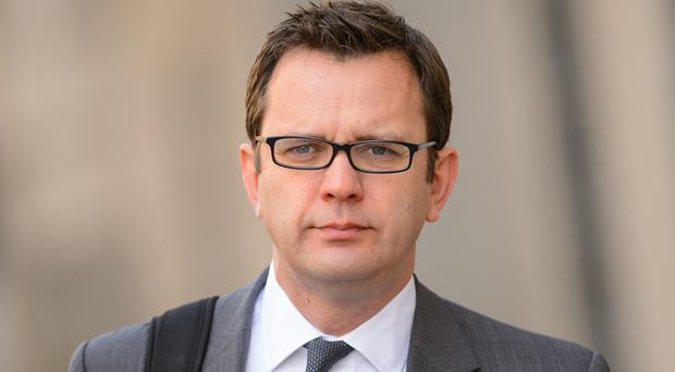Andy Coulson denies committing perjury in the 2010 trial of former MSP Tommy Sheridan