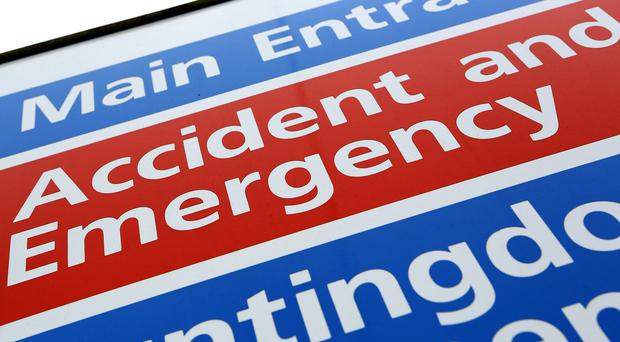 NHS England said 93.4% of patients spent four hours or less from arrival to admission, transfer or discharge