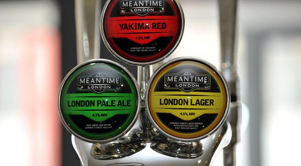 Meantime brews craft beers such as London Pale Ale and Yakima Red