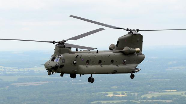 RAF Chinook helicopters sent to Nepal have not been used in the aid effort