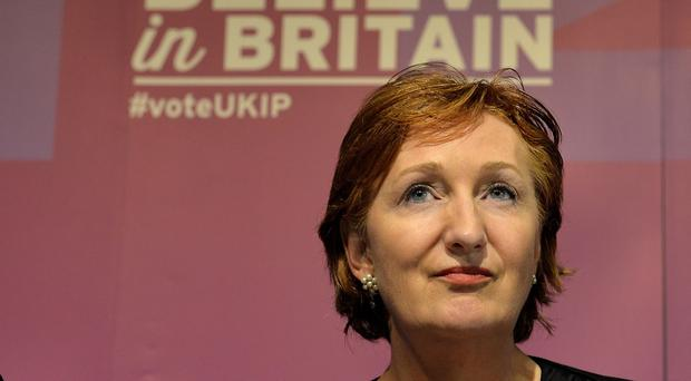 Suzanne Evans dismissed the row over Nigel Farage's leadership