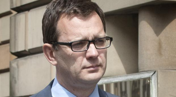 Andy Coulson, a former director of communications for the Prime Minister, denies the allegations against him