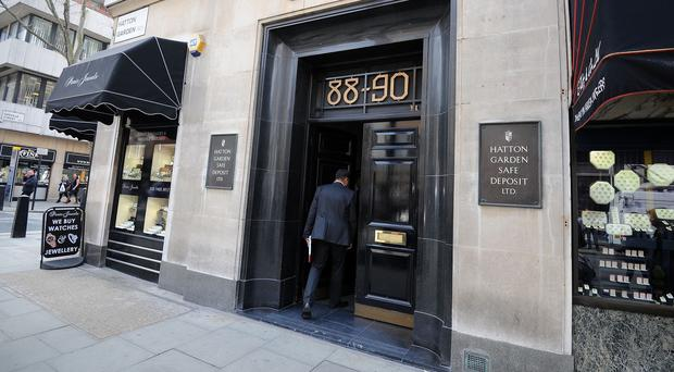 Seven people have been arrested after a raid at the Hatton Garden Safe Deposit company in London