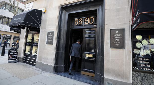 Nine people have been arrested after a raid at the Hatton Garden Safe Deposit company in London